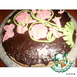 """Рецепт Торт """"Пражский праздничный"""""""