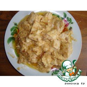 Рецепт Куриные грудки в сырно-чесночном соусе