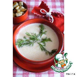 Рецепт Суп-пюре из кольраби