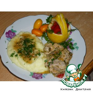 Рецепт Гуляш из свинины с кумкватами