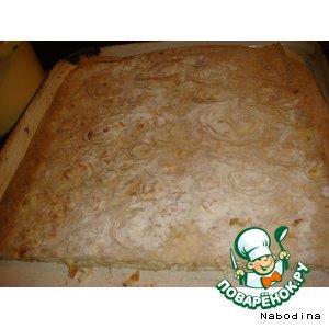 Творожнй пирог простой рецепт с фото