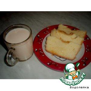 Рецепт Сладкий молочный пирог