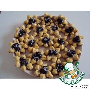 """Рецепт Десертное печенье """"Волшебные цветы"""""""