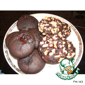 Рецепт Постные шоколадные кексики