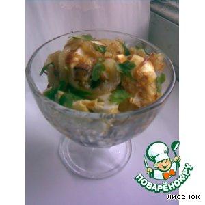 Рецепт Пикантная закуска из яиц