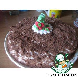 Торт сметанный первый
