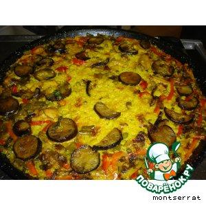 Рецепт Arroz con verdura-рис с овощами
