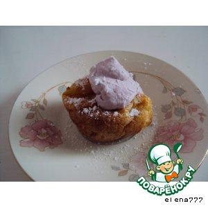 Рецепт Йоркширские  пудинги  со взбитыми сливками