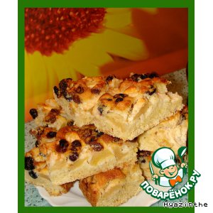 Рецепт Бабушкин яблочный пирог