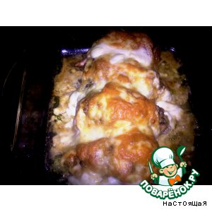 Как приготовить вкусный рецепт приготовления с фото Куриная грудка, фаршированная грибами