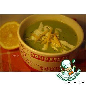 Рецепт Овощной суп-пюре с брынзой