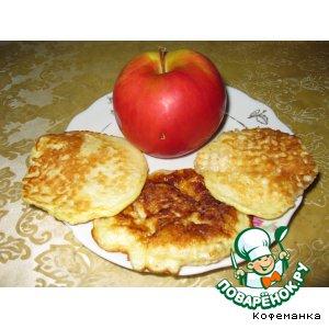 Рецепт Ленивые пирожочки с яблоками