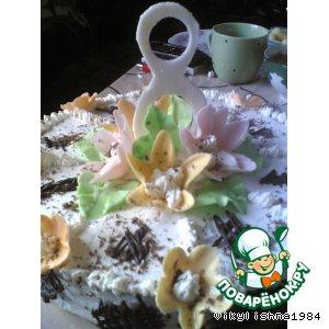 Рецепт Украшения для торта из мастики!