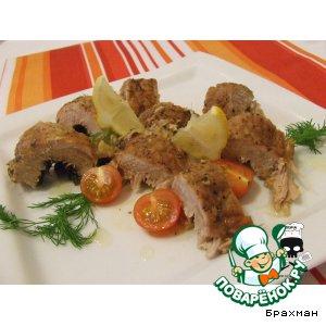 Рецепт Свинина с фенхелем и чесноком