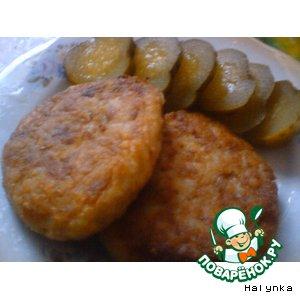 Рецепт Котлеты рисовые с куриным фаршем