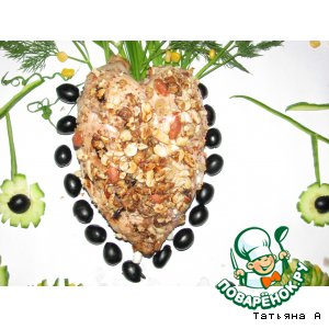 Рецепт Грудинка в ореховой панировке «ТЫ и Я»