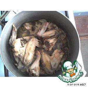 Как готовить простой рецепт с фотографиями Курица с чесноком