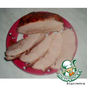 Рецепт Свинина в клюквенном соусе