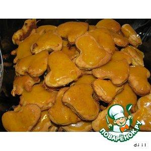 Рецепт Тыквенное печенье с ириской