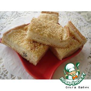 Рецепт Молочный пирог-турецкая выпечка