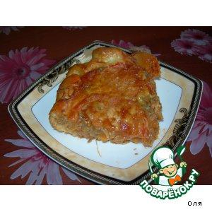 Рецепт Пирог рыбный открытый
