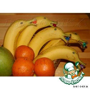 Рецепт Дельфинчики из бананов