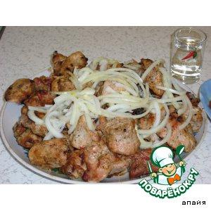 Рецепт Шашлык из свинины на кефире