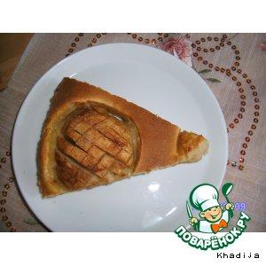 Рецепт Яблочный торт с марципаном и корицей