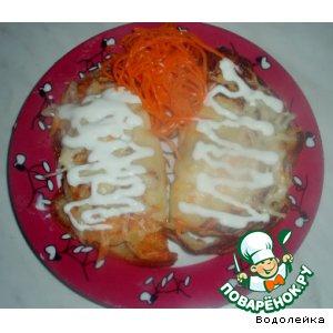 Рецепт: Картофельные блинчики