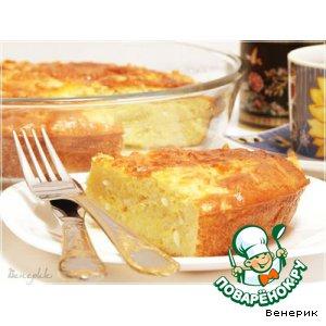 Рецепт Рисовая запеканка с омлетом - на завтрак и не только