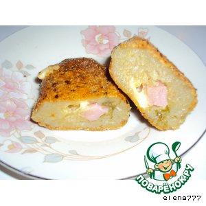 Рецепт Картофельные деруны-зразы