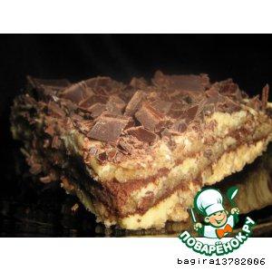 Рецепт Ледяной миндальный торт - Semifreddo
