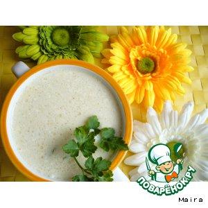 Рецепт Суп-пюре с нутом и креветками