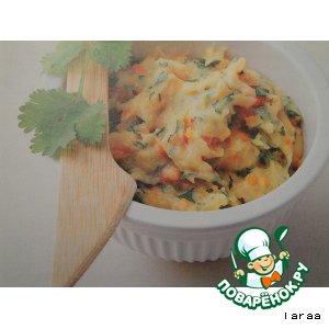 Рецепт Картофельное пюре с чечевицей