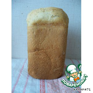 Рецепт Хлеб с укропом и сыром