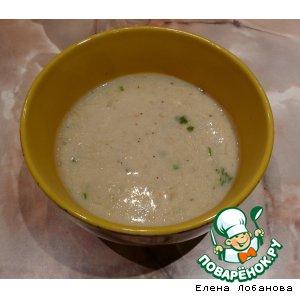 Рецепт Крем-суп с креветками