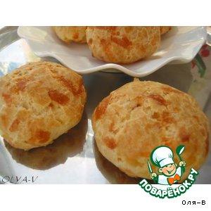Рецепт Заварные булочки с сыром