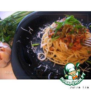 Рецепт Паста с овощами и мясным фаршем