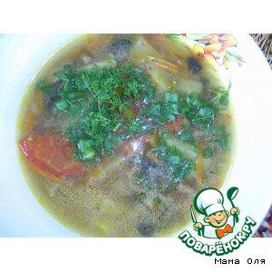 Рецепт Суп картофельный грибной