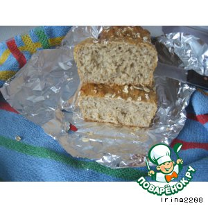Рецепт Хлеб с овсяными хлопьями