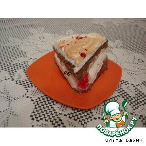 """Рецепт Торт-мороженное """"Под снежной шапкой"""""""