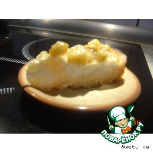 Рецепт Кокосово-творожный пирог с крыжовником