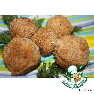 Рецепт Селедочные шарики с сыром
