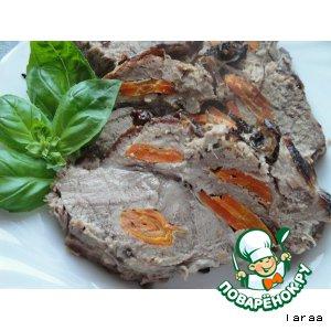 Мясо запеченное целиком домашний рецепт приготовления с фото пошагово готовим