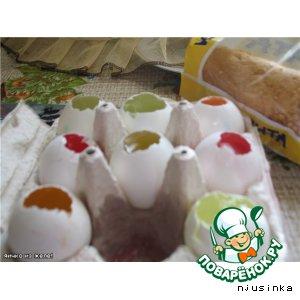 Рецепт Желейные яички