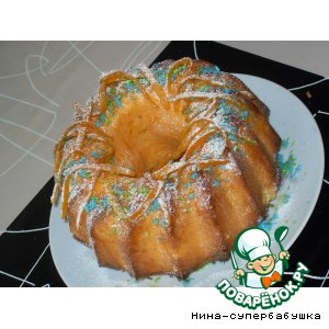 """Рецепт Апельсиново-кокосовый кекс """"Джулия"""""""
