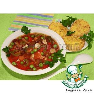 Рецепт Густой томатный суп