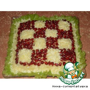 """Рецепт Салат """"Гренадиловая шкатулка"""""""