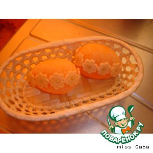 Рецепт Пасхальные сахарные яйца