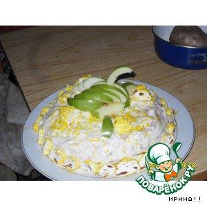 Рецепт Мой медовый тортик
